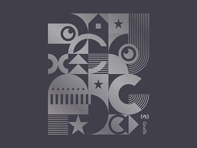 T-Shirt Graphic texture geometric tshirt