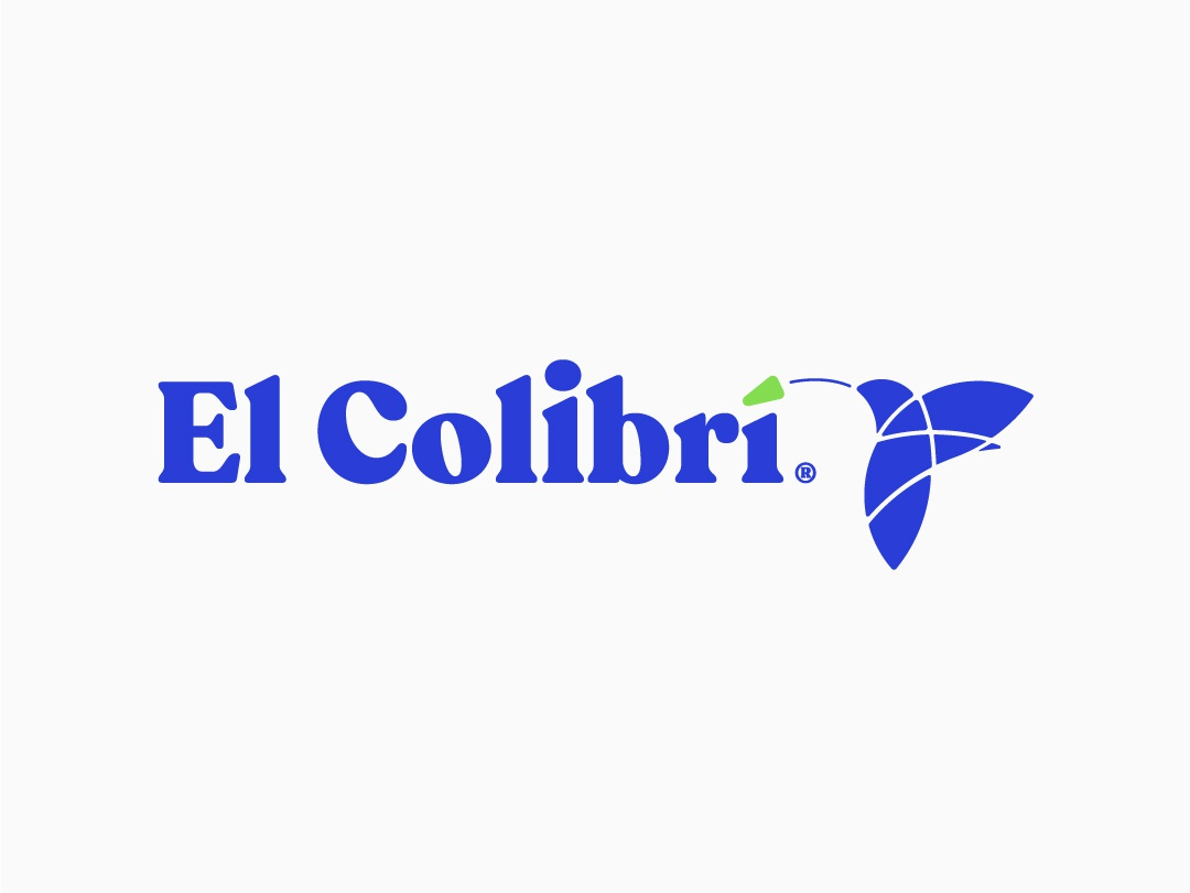 El Colibri Branding design typogaphy icon logo identity branding