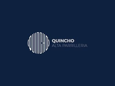 El Quincho Alta Parrillería design typogaphy icon logo identity branding