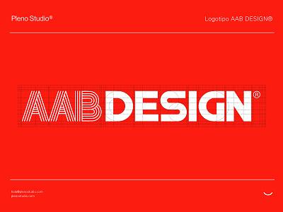AABDESIGN® Logotipo design typogaphy icon logo identity branding
