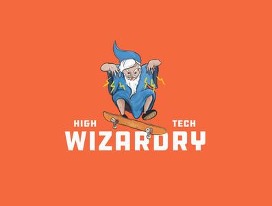 Wizard kickflip