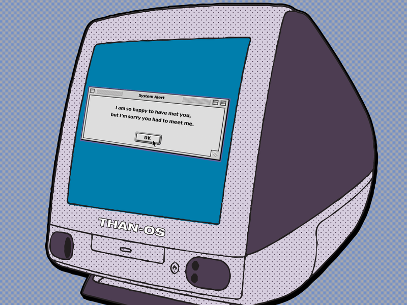 Mac G3 Illustration macg3 g3 macos ui illustration memes
