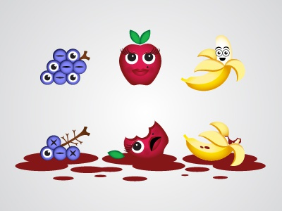 Dribble fruit 01 01
