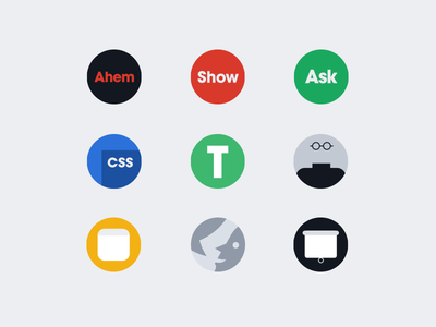 Designer News 2.0 Badges