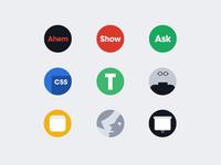Designer News 2.0 Badges