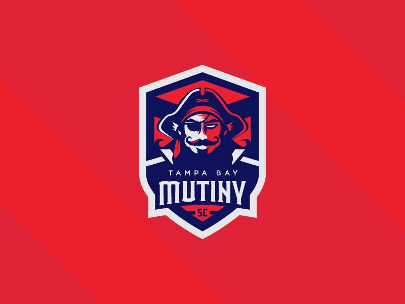 Tampa Bay Mutiny SC Logo Branding Vector Badge Sports Pirate Mls Football Soccer Illustration
