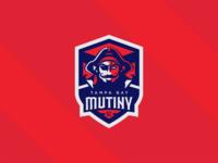 Tampa Bay Mutiny S.C. Logo branding vector badge sports pirate mls football soccer illustration logo