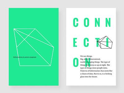 Data branding branding identity ethos poster logo dynamic green typography data