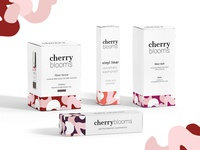 Cherry Blooms Cosmetic Packaging