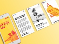 Surf Life Saving Queensland - SOS Week Mobile Views