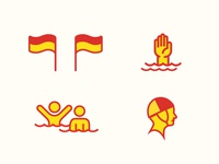 Surf Life Saving Queensland Icons