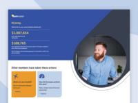 Sunsuper Dashboard Desktop