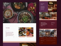 Babylon Restaurant Homepage