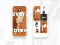 Forever 21 Concept App