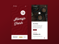 Tim Hortons - Mobile Screens