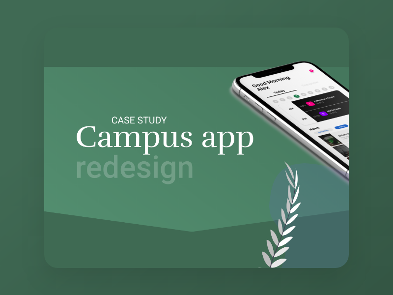 Campus App - Presentation campus university list to do productivity organise student app school