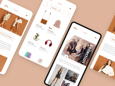 Forever21 Redesign app produc fashion graphicdesign userexperience iphone mobile uiux uxui forever21