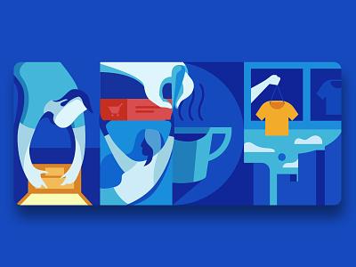 User Experience personal brand identity design vector ux ui design illustration branding