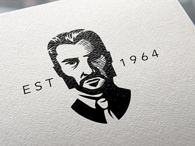 Printed John Wick Logo Mockup freelance identity design logo design symbol logo illustration branding