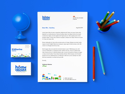 Home Alone Stationary Design
