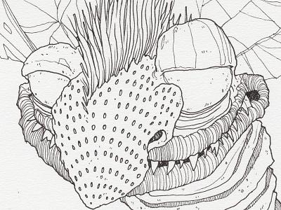 "Day 18 ""Zimbo"" (Monster Mash / Inktober) inktober2017 monster nickelodeon real monsters drawing ink inktober"