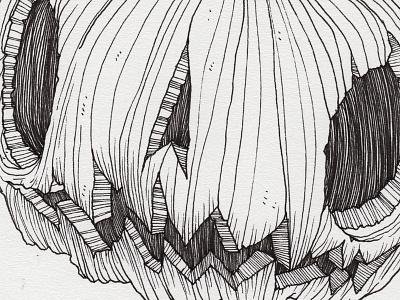 "Day 30 ""The Great Pumpkin"" (Monster Mash / Inktober) peanuts pumpkin the great pumpkin tavo montanez monster mash inktober2017 monster drawing ink inktober"