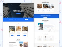 Real Estate Website Interface