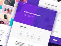 Digital Agency Home
