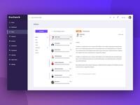 Web Application | Dashboard Inbox