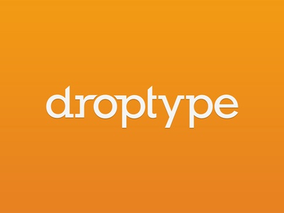 Droptype logotype
