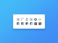 18x18 pixel Icons