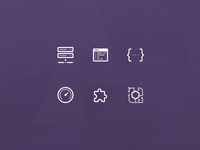 Server Integration Icons
