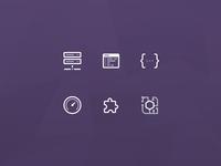 Server Integration Icons