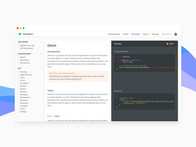 Dev console colors browser code waves api developers documentation