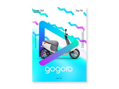 Day 96 - gogoro