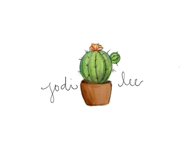 Potted Cactus Logo