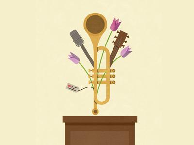Music Bouquet