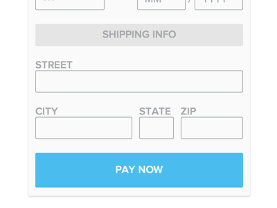 Custom Payment Form