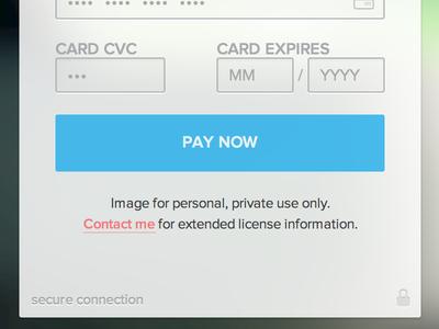 Custom Payment Form Ver.2