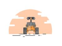 WALL.E vector Design