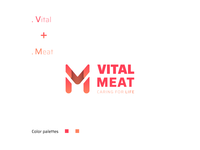 Vital Meat Logo Design
