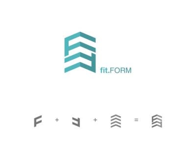 Fitform logo design concept
