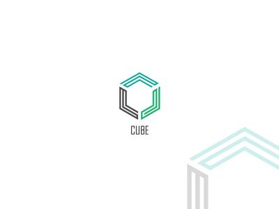 Cube Logo Concept logo branding creative graphic  design typography vector design flatdesign illustrator cc logoconcept logo designs