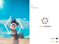 Photobombrs Logo Concept