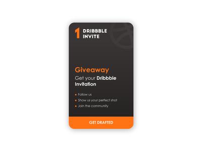 Dribbble invite icon ux ui creative typography vector flatdesign illustrator cc dribbbleinvites graphic design