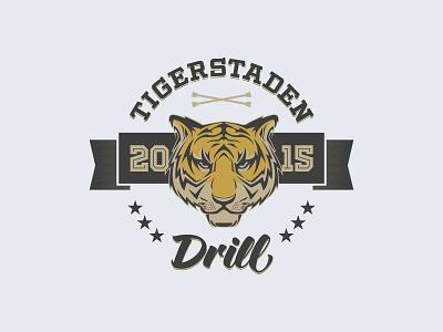 Twirling Team Logo team vector illustration tiger oslo twirling logo