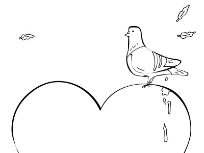 Pigeon Valentine valentine valentines pigeon feather poo bird game dove rip