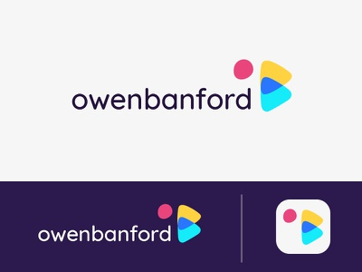 OB Logo rebrand form typography wordmark letters experiments experiment logo branding