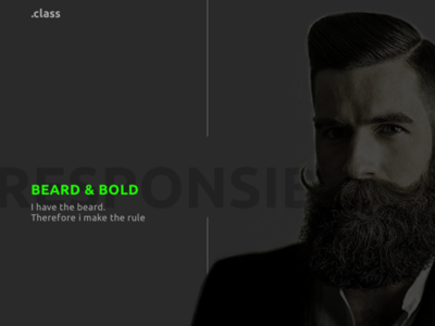 beard style men fashion