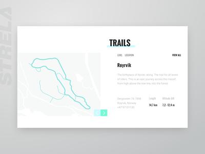 Website UI for Ski Training Center (part 3)